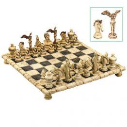 """שחמט מיתולוגיה יוונית 43 ס""""מ"""