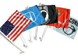 דגלים לרכב עם הדפסה