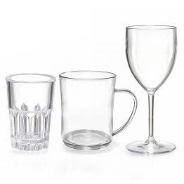 כוסות איכותיות דמוי זכוכית